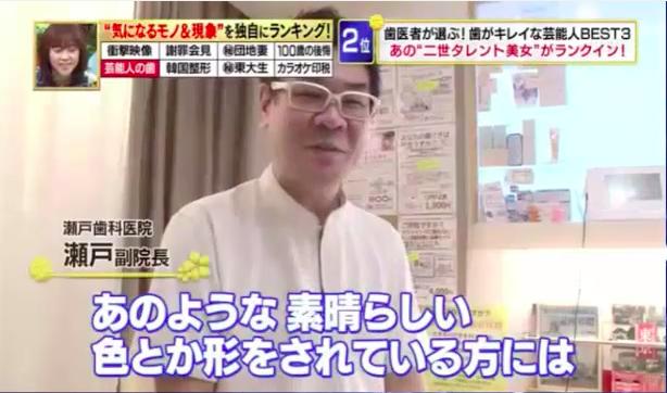 当院の副院長がTVの取材を受けました。